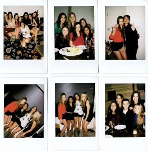 Polaroid Camera. Photos taken by Jackie Widmann and friends of Jackie Widmann.